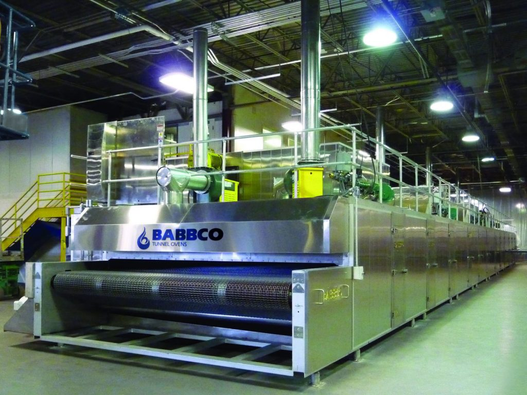 Babbco Air-Impingement tunnel oven
