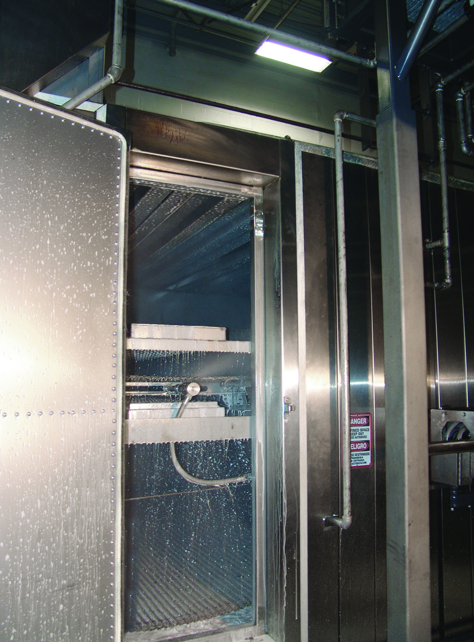 Babbco Tunnel Ovens CIP & Belt Washing System