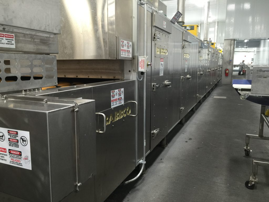 Babbco Electric Tunnel Oven