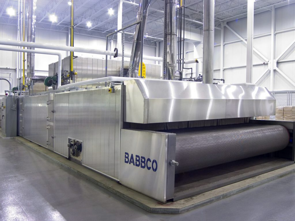 Babbco Radiant-Tube tunnel oven